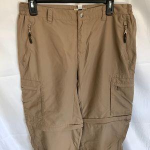 REI Women's hiking pant ykk Zipper pockets size 12